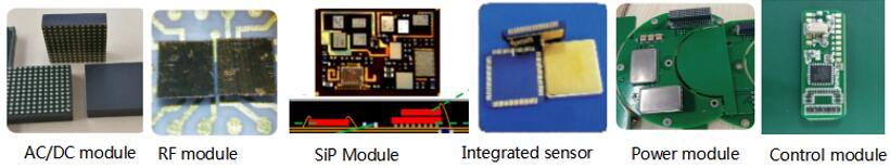 集成MEMS传感器、集成电源模块、低功耗控制模块、RF射频前端已具批量生产能力