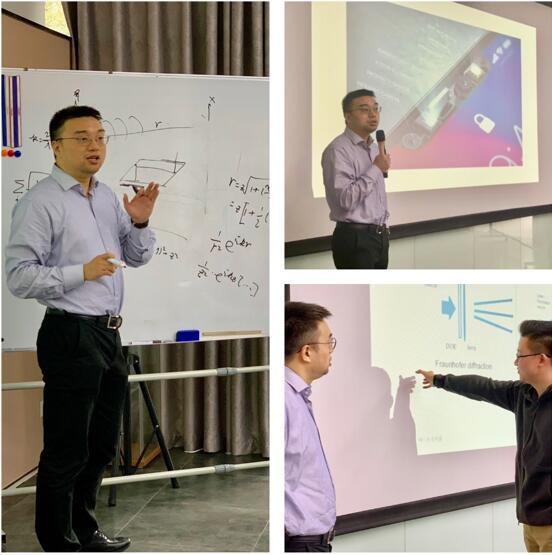 北京驭光科技发展有限公司董事长兼CEO田克汉老师的授课风采