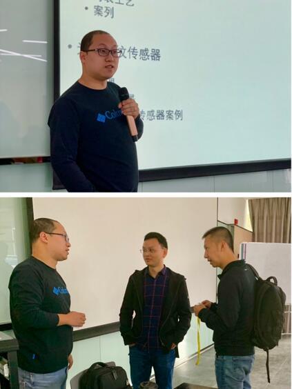苏州多感科技有限公司联合创始人兼执行董事王腾老师的授课风采