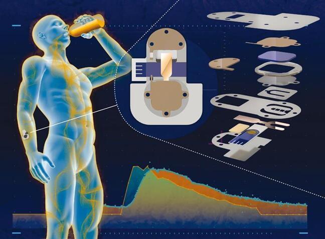 可穿戴式传感器使用汗液检测血液中的酒精含量