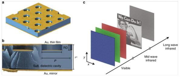 腔耦合等离子体器件示意图