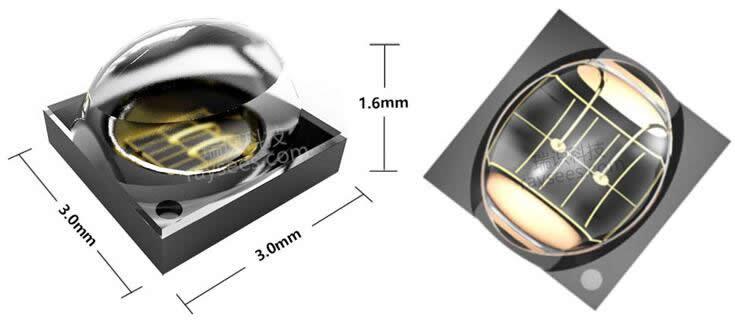 瑞识科技FRay系列3D传感用LED泛光源产品图片