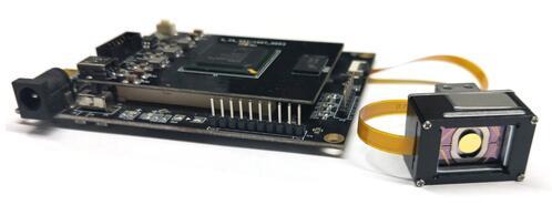 希景科技的激光雷达开发模组驱动板