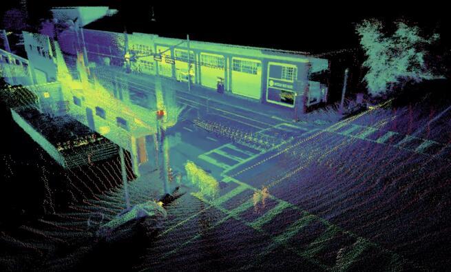 OS-1 64激光雷达传感器的即时定位与地图构建(SLAM)