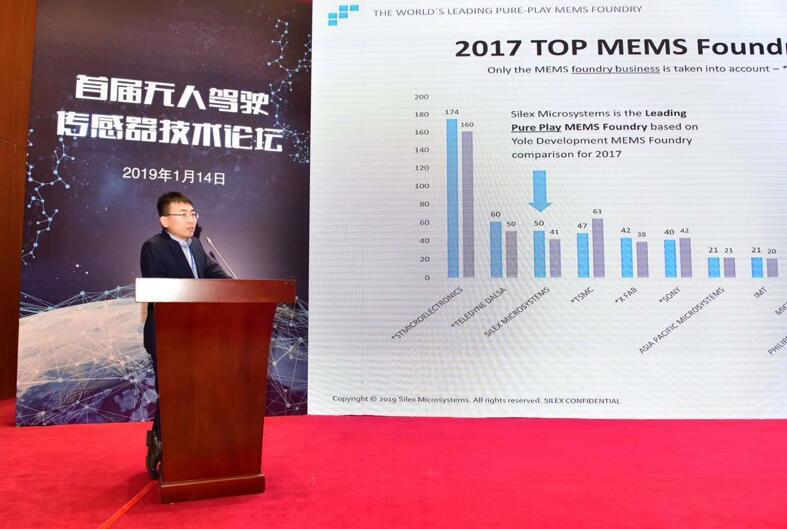 赛莱克斯微系统科技(北京)有限公司中国区代表覃裕平先生