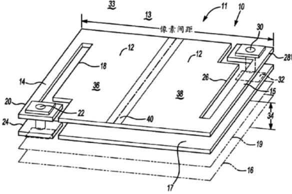 超点阵量子阱红外探测器结构示意图