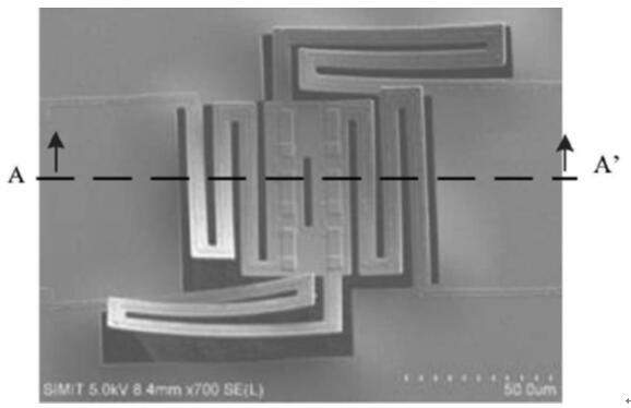 热敏电阻型MEMS红外探测器结构
