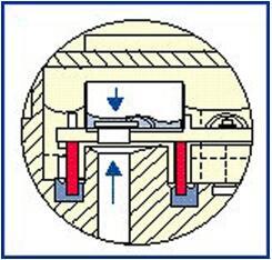 安装在燃油箱中的传感器模组中的蒸发排放传感器元件