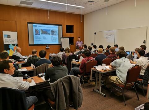 2019年1月在美国旧金山举办的TOF学院培训现场