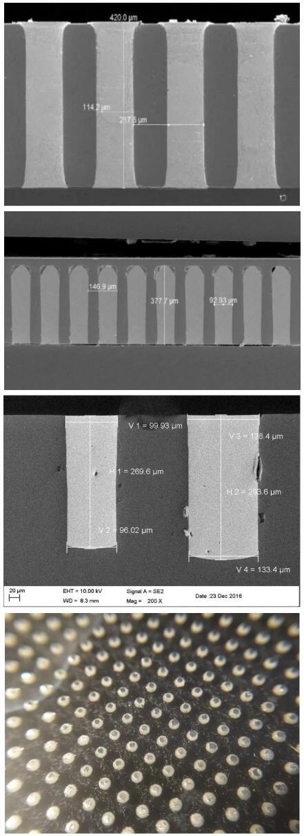 上海迈铸半导体科技有限公司利用MEMS-Casting™技术实现TSV/TGV填充的图片