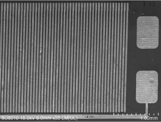 基于MEMS-Casting™技术的磁通门传感器探头芯片图片