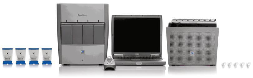 GeneXpert是世界上第一个将样品制备、扩增与检测完全整合的定量PCR仪,使得即使不具备专业技术的人员也可以在各种环境下进行复杂的分子检测。