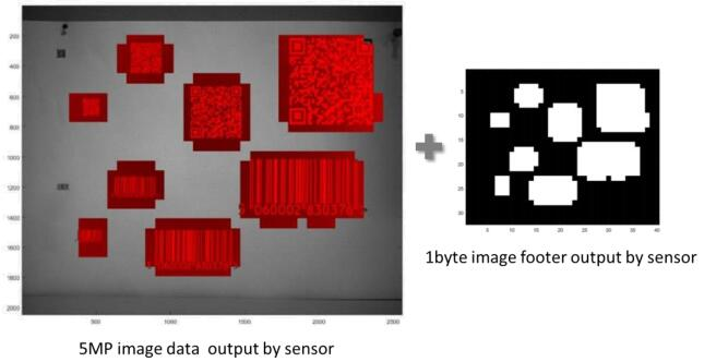 Teledyne e2v Snappy五百万像素芯片,自动识别条形码位置