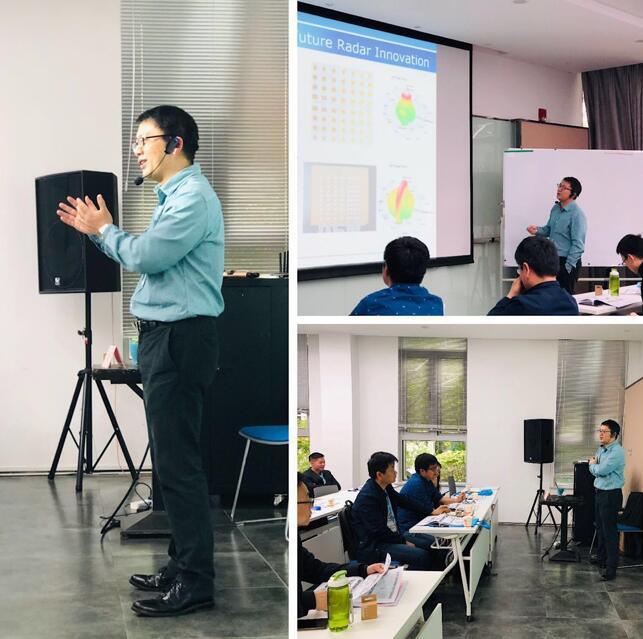 上海矽杰微电子有限公司CEO卢煜旻老师的授课风采