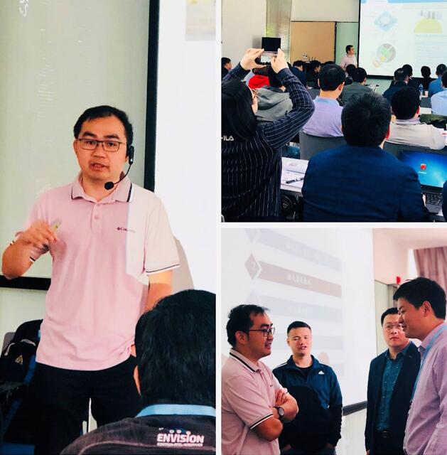 深圳力策科技有限公司总经理张忠祥老师的授课风采