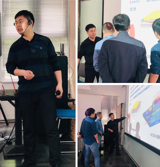 中国科学院长春光学精密机械与物理研究所副研究员张建伟老师的授课风采