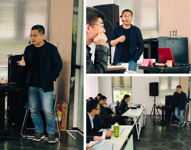 中国科学院苏州纳米技术与纳米仿生研究所博士生导师沈文江老师的授课风采