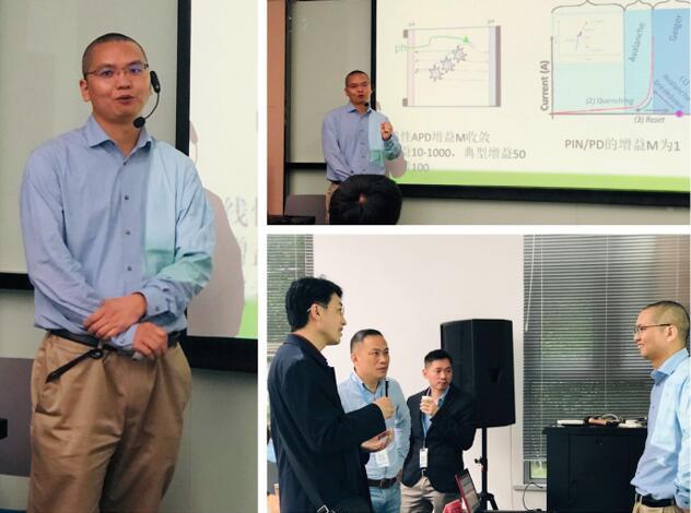 中国科学院上海技术物理研究所副研究员程正喜老师的授课风采