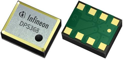 英飞凌推出压力传感器DPS368,可同时测量气压与温度