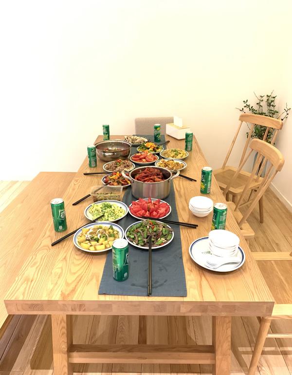 麦姆斯咨询团队亲手烹饪的美食(团建活动)