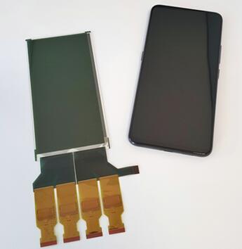 智能手机指纹传感器和CMOS图像传感器应用的有机光电探测器