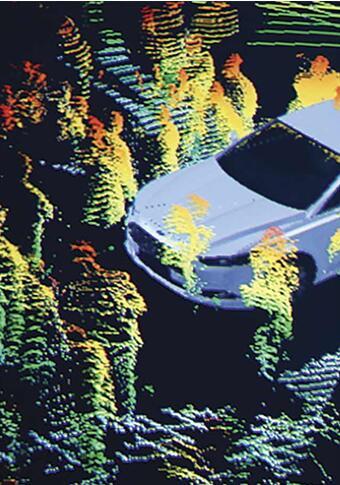激光雷达的图像提供更详细的环境信息