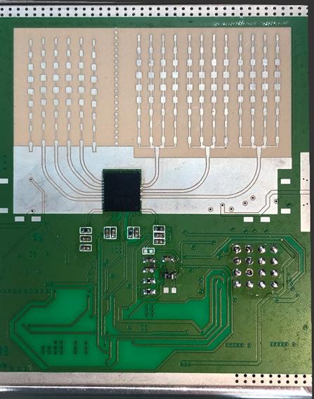 迈矽科微电子研制的多通道毫米波雷达芯片