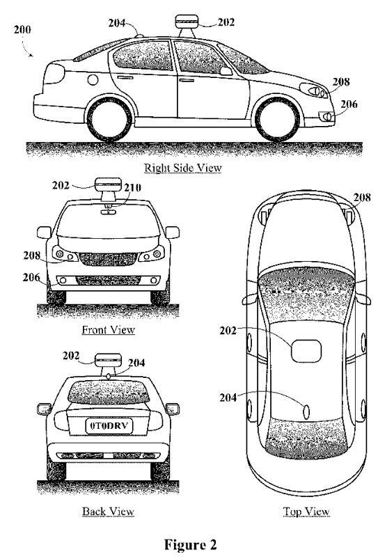 优步和谷歌在激光雷达相关专利上存在分歧,图为专利936