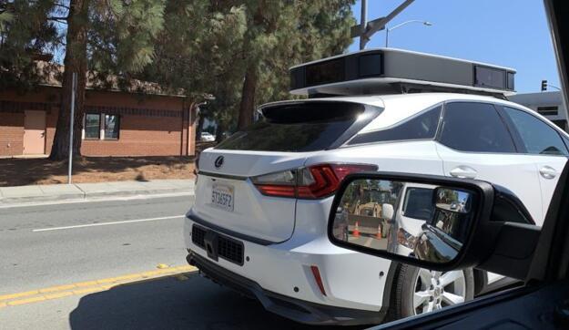 谍报:苹果自动驾驶测试汽车似乎抛弃了激光雷达