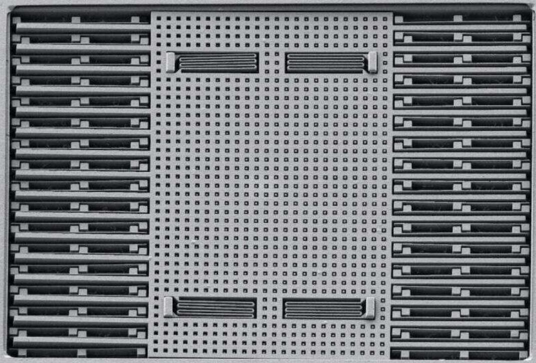 内建在0.18微米CMOS中的2D惯性传感器