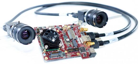 安装在无人机上的立体摄像头和嵌入式系统