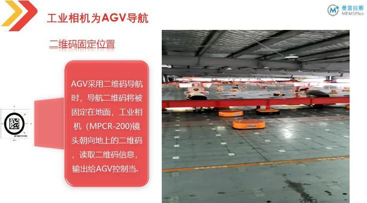 AGV采用二维码导航