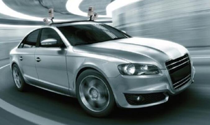 安装有激光雷达的车辆