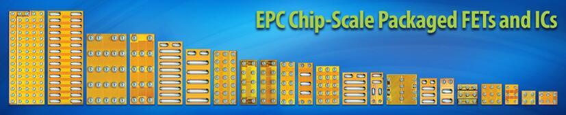 EPC推出的芯片级封装场效应晶体管和集成电路