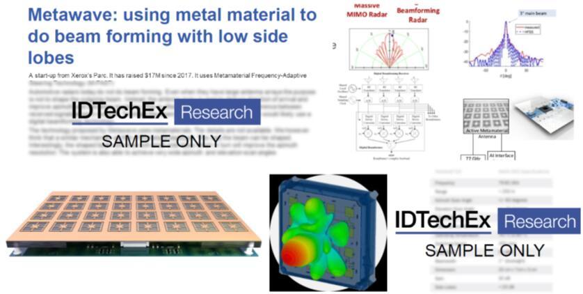初创公司Metawave利用超材料实现波束成型和操纵