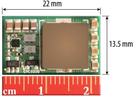 EPC9205开发板将功率密度提高到1400W/in3