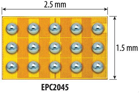 EPC推出的100V eGaN功率晶体管