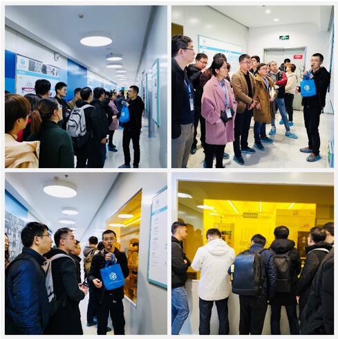 学员参观苏州MEMS中试平台
