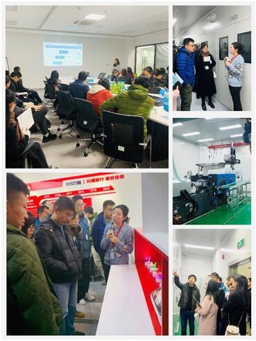 学员参观苏州含光微纳科技有限公司的微流控制造平台