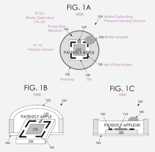 具有检测水分功能的压力传感器专利申请图片