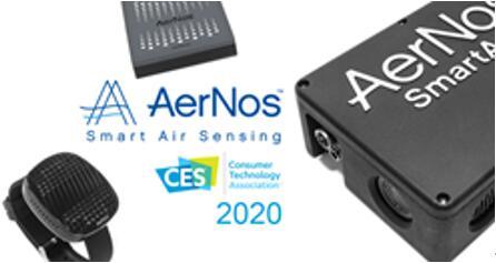 AerNos将于CES 2020推出最新纳米气体传感器