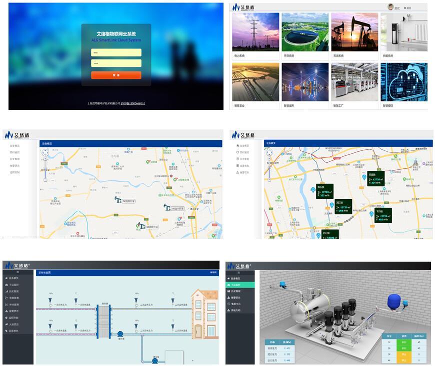 艾络格物联网项目演示系统