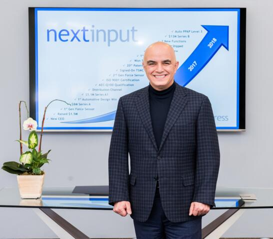 NextInput创始人兼首席执行官Ali Foughi