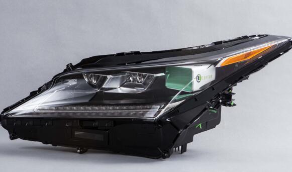 嵌入汽车前大灯中的Cepton激光雷达