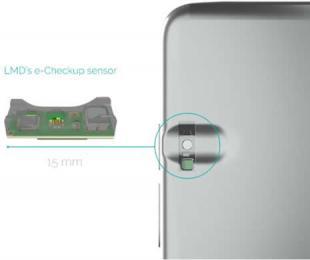 可嵌入智能手机的医疗级传感器,使高精度个人健康监测一手掌握