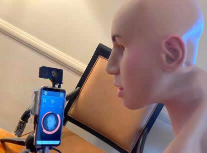 利用3D打印面罩测试Trinamix 开发的3D传感模块