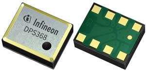 英飞凌DPS368气压传感器可以精确检测高度、垂直速度和运动的细微差异