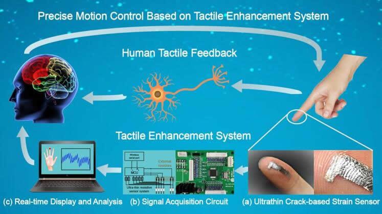 视觉辅助触觉增强系统(visually aided tactile enhancement system,VATES)可用于精确的运动控制