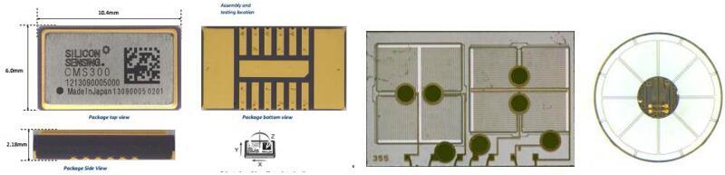 Silicon Sensing Systems惯性组合传感器CMS300