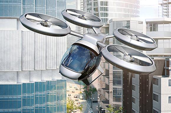 """微电子技术助力飞行汽车,""""打飞的""""指日可待"""